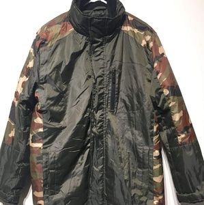 Other - Army Fatigue Insulated Coat!!